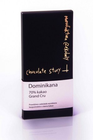 GRAND CRU 70% KAKAO Z DOMINIKANY 50G